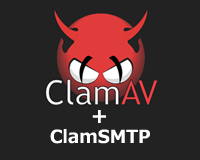 ClamAVとClamSMTPを利用してPostfixのメールをウイルスチェック