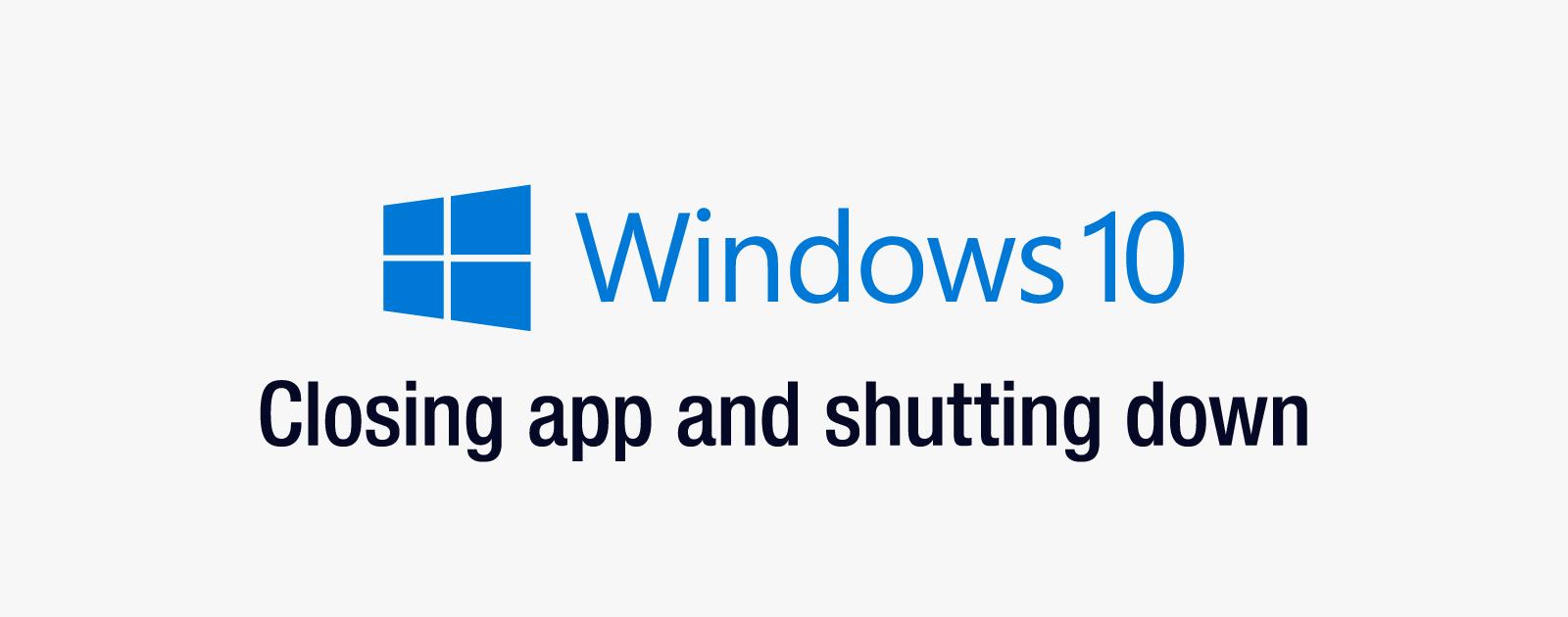 「このアプリがシャットダウンを妨げています」と表示されるがアプリがわからない場合の対処法