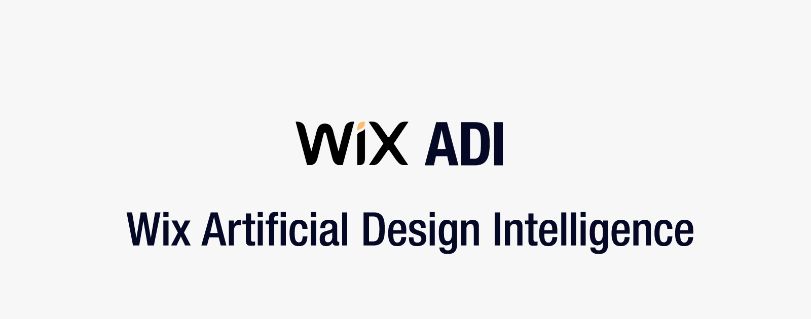 Web制作の仕組みを根底から覆すかもしれないWix ADIの人工知能